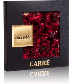chocoMe Carré White Chocolate Nirvana