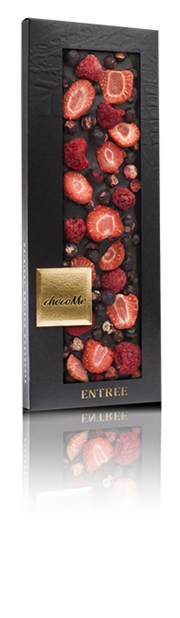 chocoMe Entrée Dark Chocolate Berrylicious