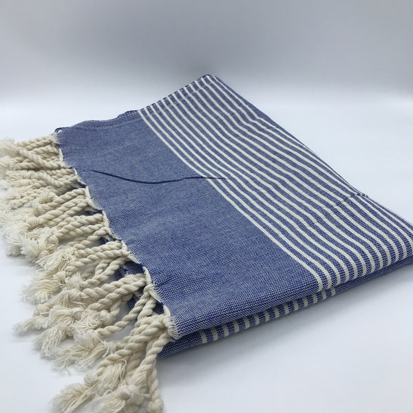 Turkish Towel Stripes Navy