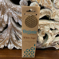 Organic Goodness Incense Cones - White Sage