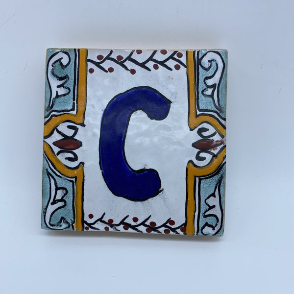 Moroccan House Letter C