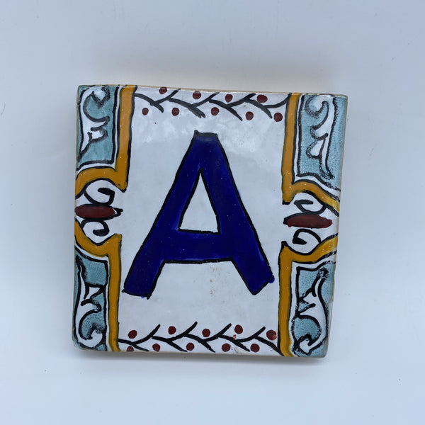 Moroccan House Letter A