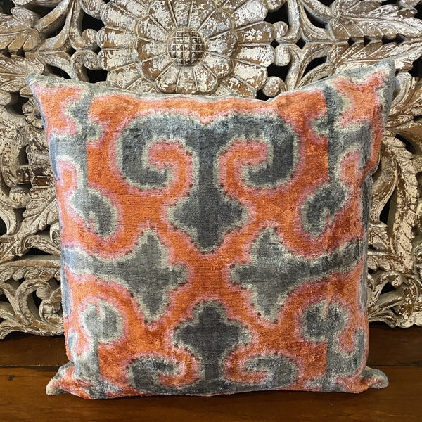 Turkish Ikat Cushion - Afet
