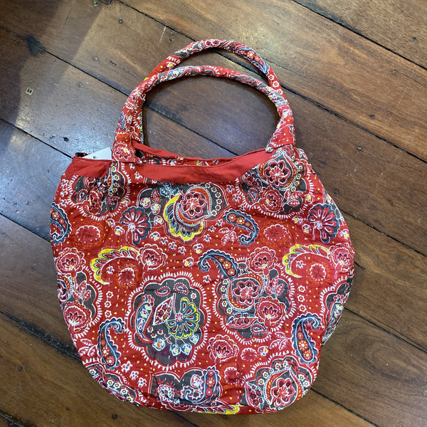 Cotton Bag - Red Flower