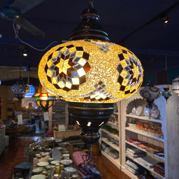 Turkish Mosaic Hanging lamp - Star 5