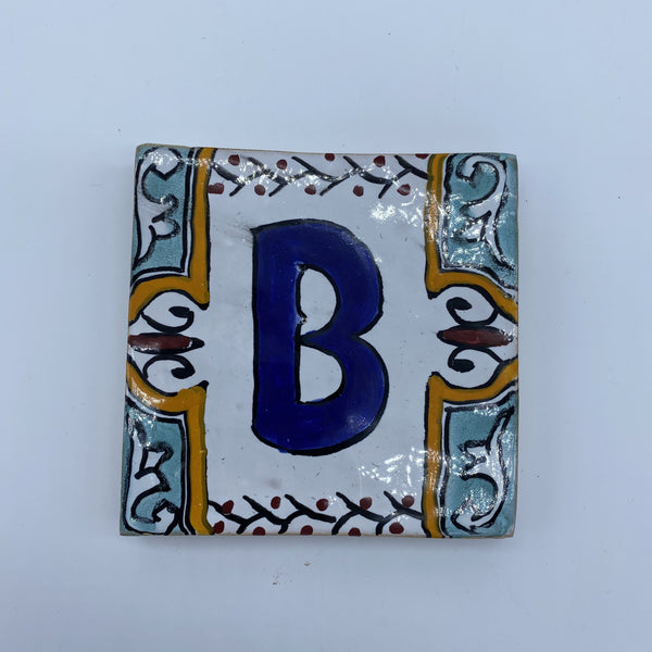 Moroccan House Letter B