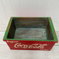 Painted Wooden Box - Cola