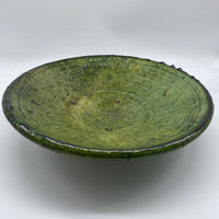 Tamegroute Plate - Green, Medium