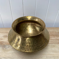 Hammered Brass Water Pot 3