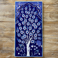 Turkish Tile - 2pce Spring Tree - Blue