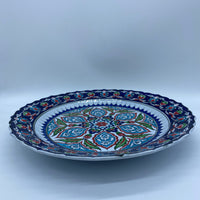 Decorative Turkish Plate 30cm - Iznik