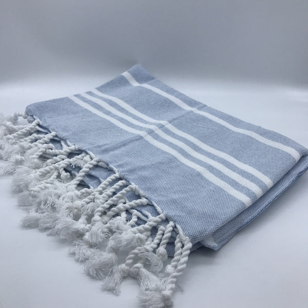 Turkish Towel Classic Pale Blue