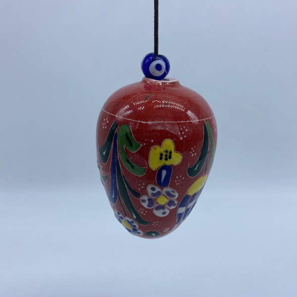 Turkish Hanging Egg - Red