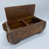Carved Box - Star