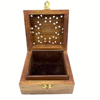 Wooden Box - Square Star