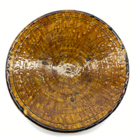 Tamegroute Plate - Amber, Large 3
