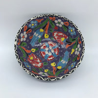 Decorative Turkish Ceramic Bowl 12cm