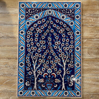 Turkish Tile Scene - 6pce Spring Tree, Multi
