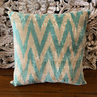 Turkish Ikat Cushion - Lunara