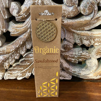 Organic Goodness Incense Cones - Sandalwood