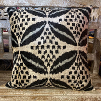 Turkish Ikat Cushion - Safiye