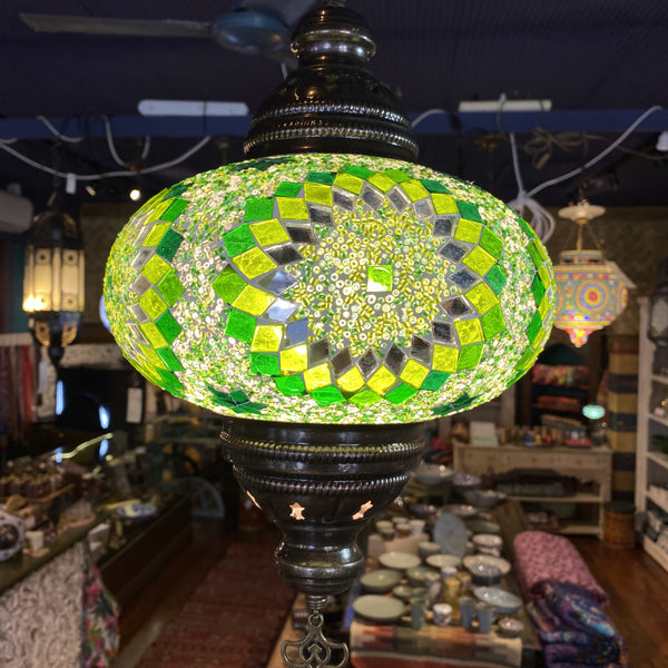Turkish Mosaic Hanging Lamp - Star 8