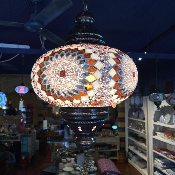 Turkish Mosaic Hanging Lamp - Star 9