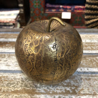 Decorative Metal Fruit - Bronze Apple