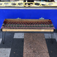 Indian Charpoy Bench - Coloured