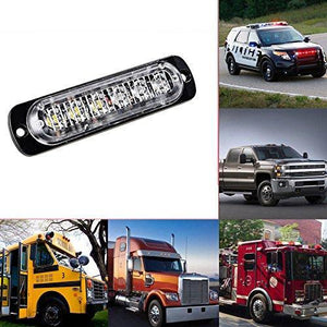 6LED Car Strobe Flash Lights-80%OFF