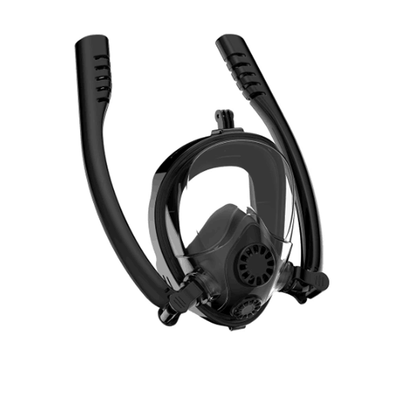 2019 New Design Double Snorkels Advanced Breathing System Diving Mask