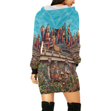 Load image into Gallery viewer, Stick Figure WoF Hoodie Dress