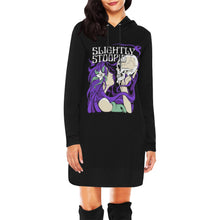 Load image into Gallery viewer, Skull Kiss Hoodie Dress