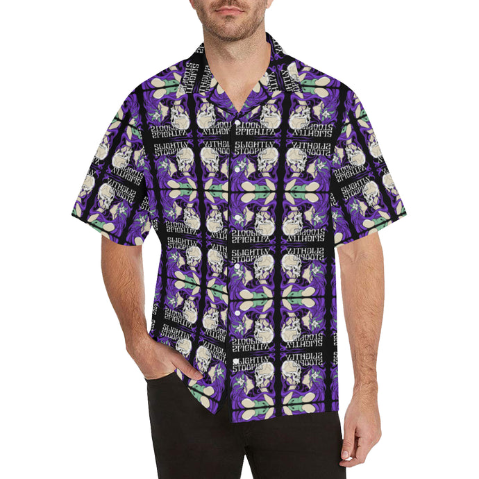 Skull Kiss Mirror Hawaiian Shirt