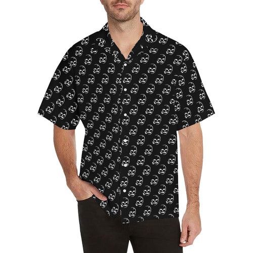 Smoking Skull Hawaiian Shirt