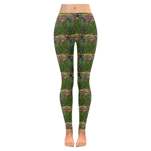 Stick Figure WoF Tile Leggings