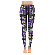 Load image into Gallery viewer, Skull Kiss Mirror Leggings