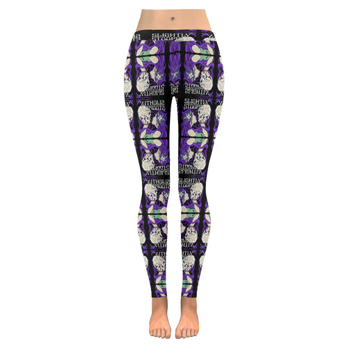 Skull Kiss Mirror Leggings