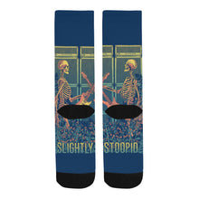 Load image into Gallery viewer, SkeleSwizzle Stoopid Socks