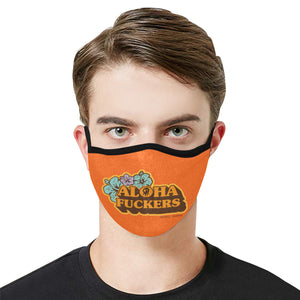 Pepper Aloha Fuckers Mask with 2 Filters
