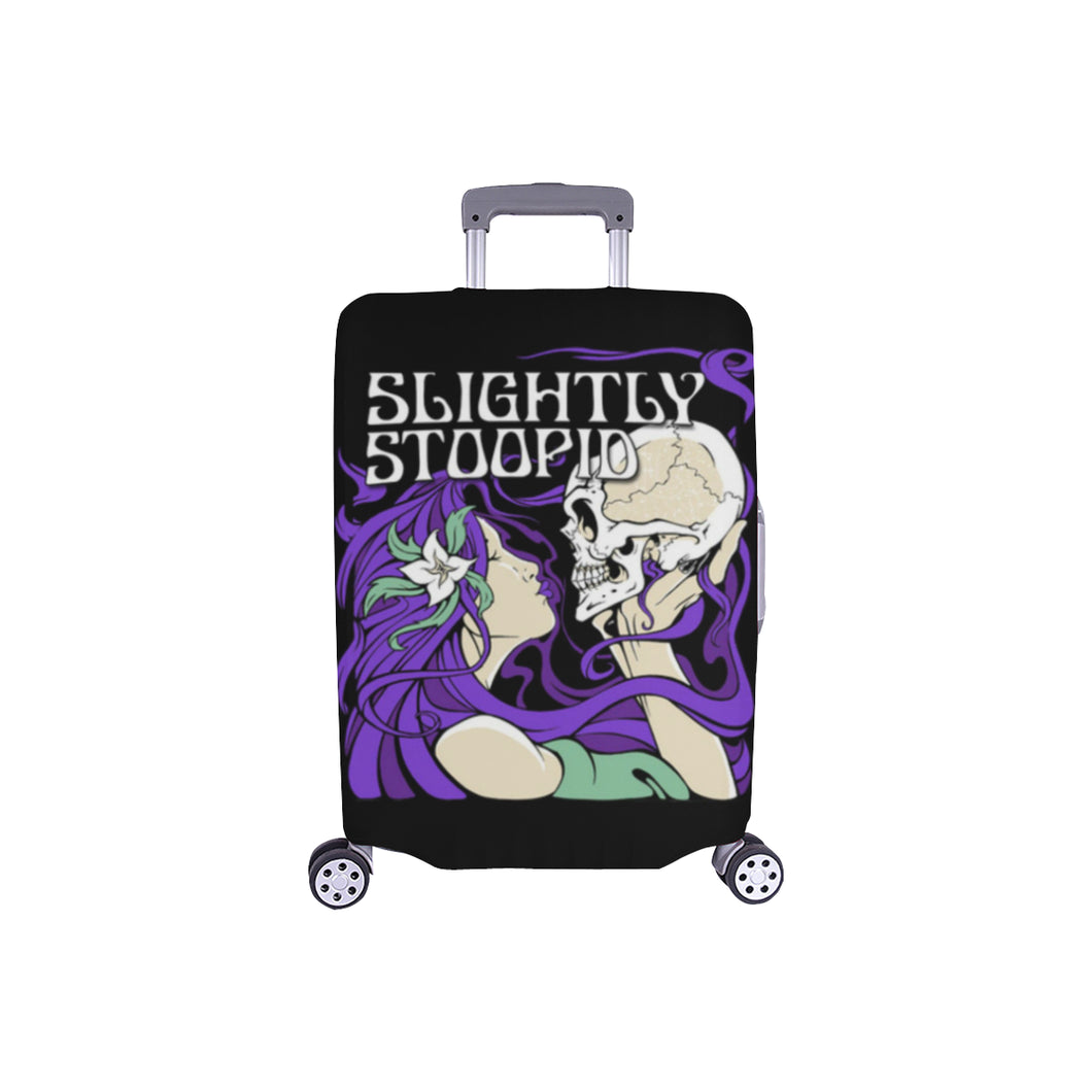Skull Kiss Small Luggage Cover