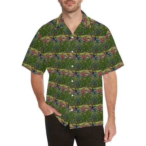Stick Figure WoF Tile Hawaiian Shirt
