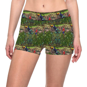 Stick Figure WoF Tile Shorts