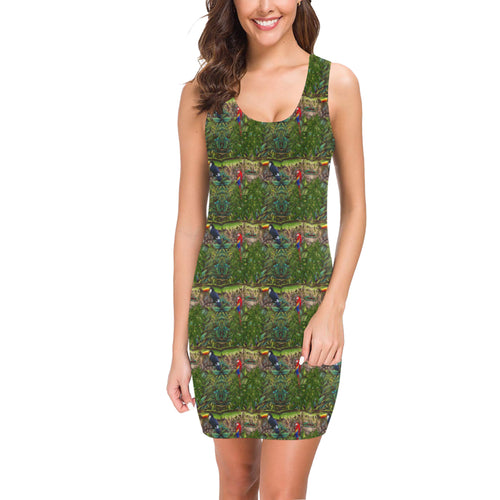 Stick Figure Wof Tile Sun Dress