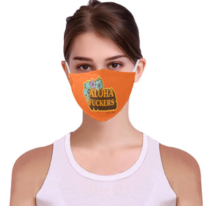 Pepper Aloha Fuckers Cotton Mask Cotton Fabric Dust Cover With Adjustable Strip