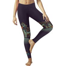Load image into Gallery viewer, Wolfies Navy Leggings