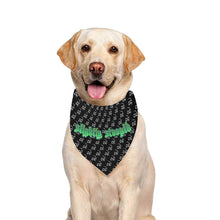 Load image into Gallery viewer, Smoking Skull Green Logo Bandana