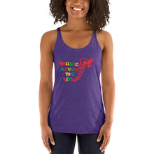 Load image into Gallery viewer, Music Saved My Life Women's Racerback Tank