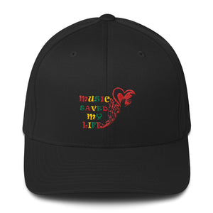 Music Saved My Life Structured Twill Cap