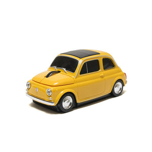 Mouse USB Giallo Fiat 500